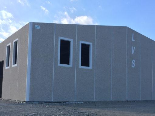 Realizzazione capannone industriale